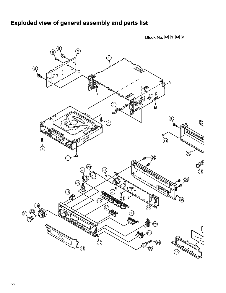 JVC KD-G402 PARTS Service Manual download, schematics