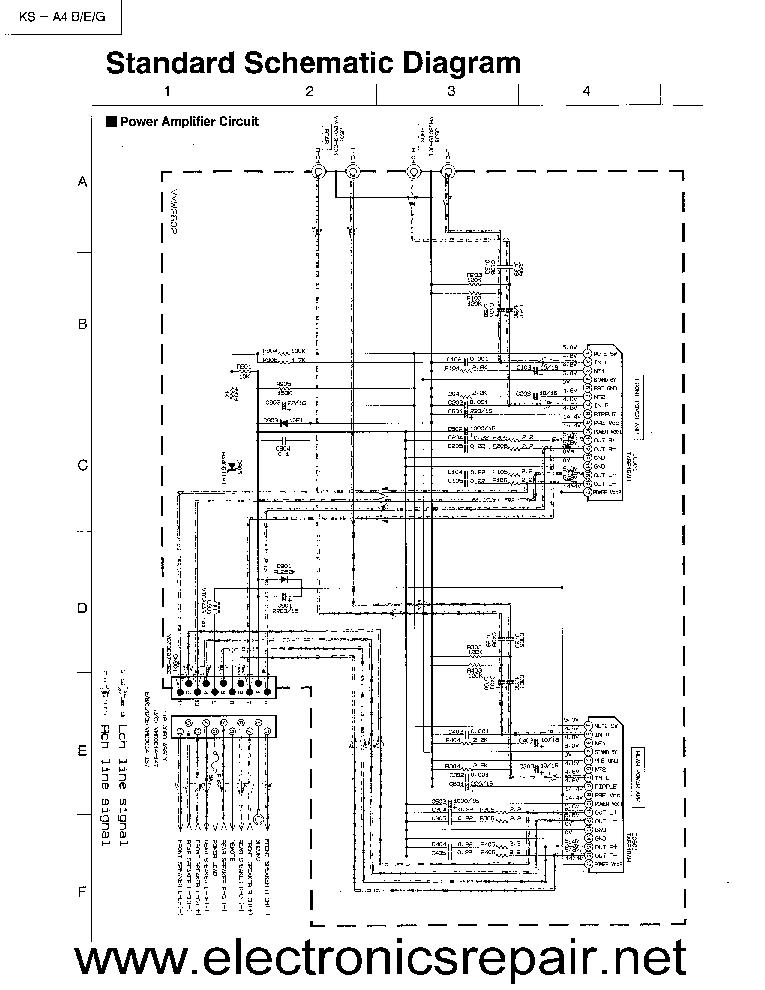 JVC KS-A4 SCH Service Manual download, schematics, eeprom