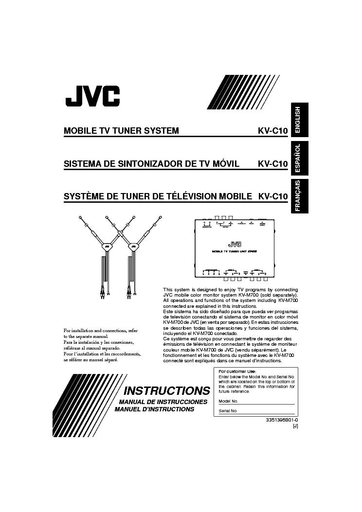 JVC KD-S670-49588- Service Manual free download