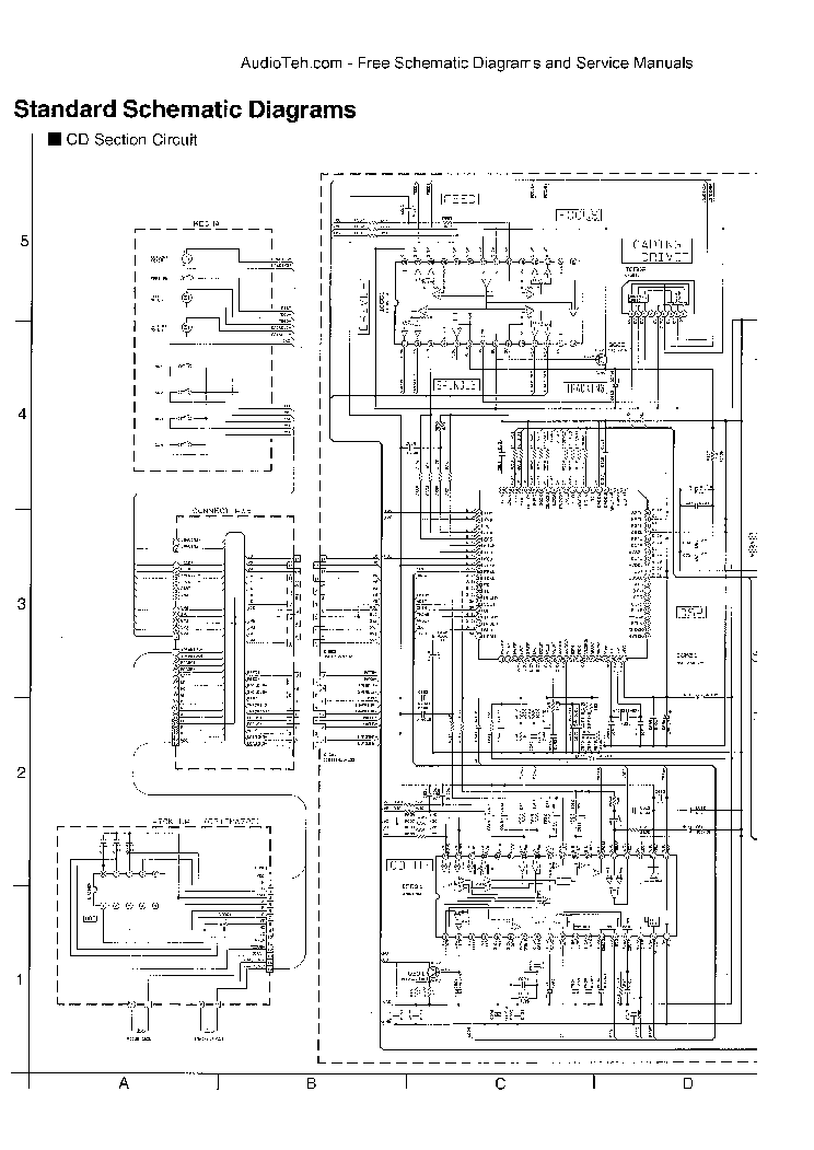 JVC KW-XC550 SCH Service Manual download, schematics