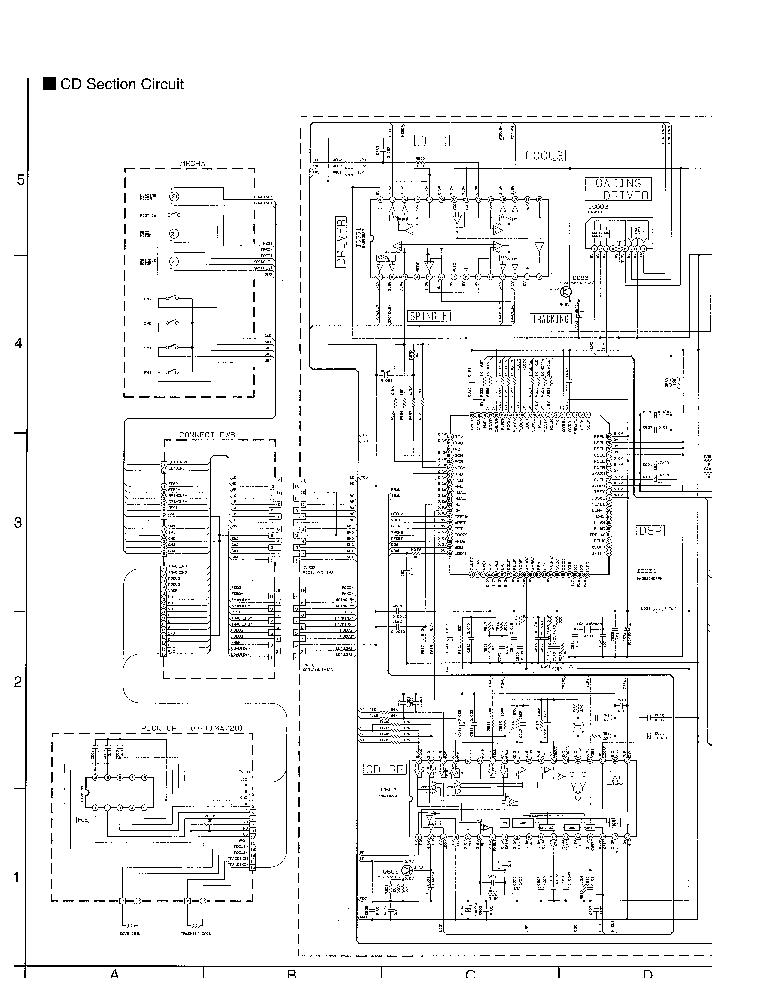 JVC KW-XC550U SCH Service Manual download, schematics