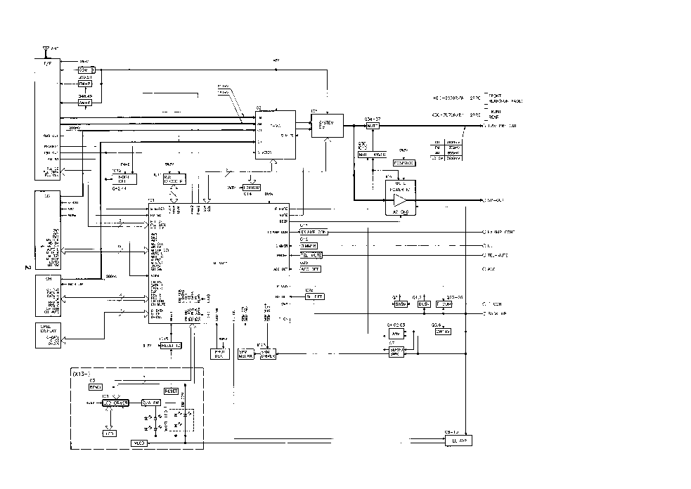 KENWOOD KDC-8070 7070 Service Manual download, schematics