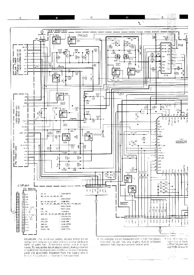 KENWOOD KDC-92R SCH Service Manual download, schematics