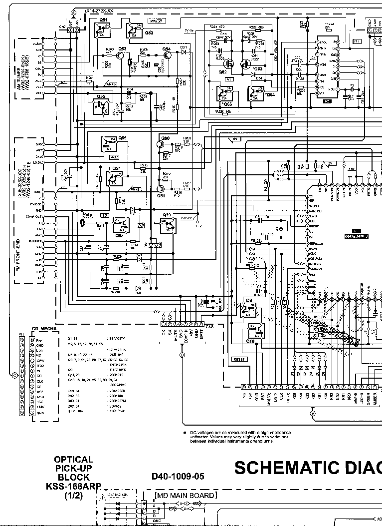 KENWOOD KDC-93R Service Manual download, schematics