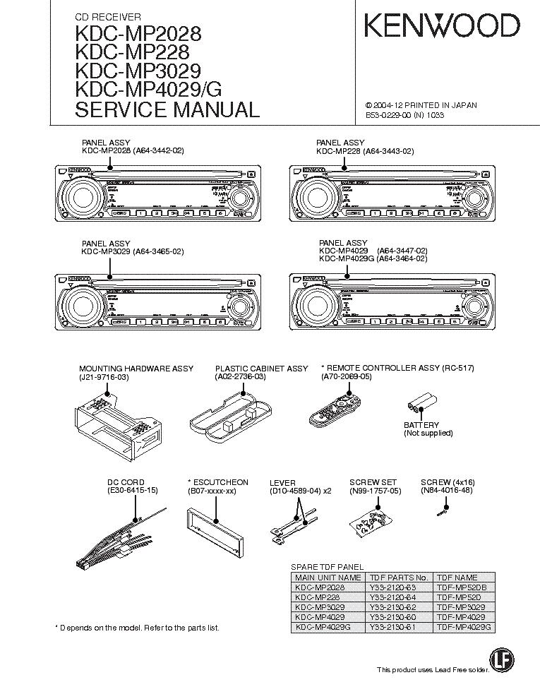 Kdc 148 Wiring Diagram - Wiring Diagrams Kdc Wiring Harness Schematics on