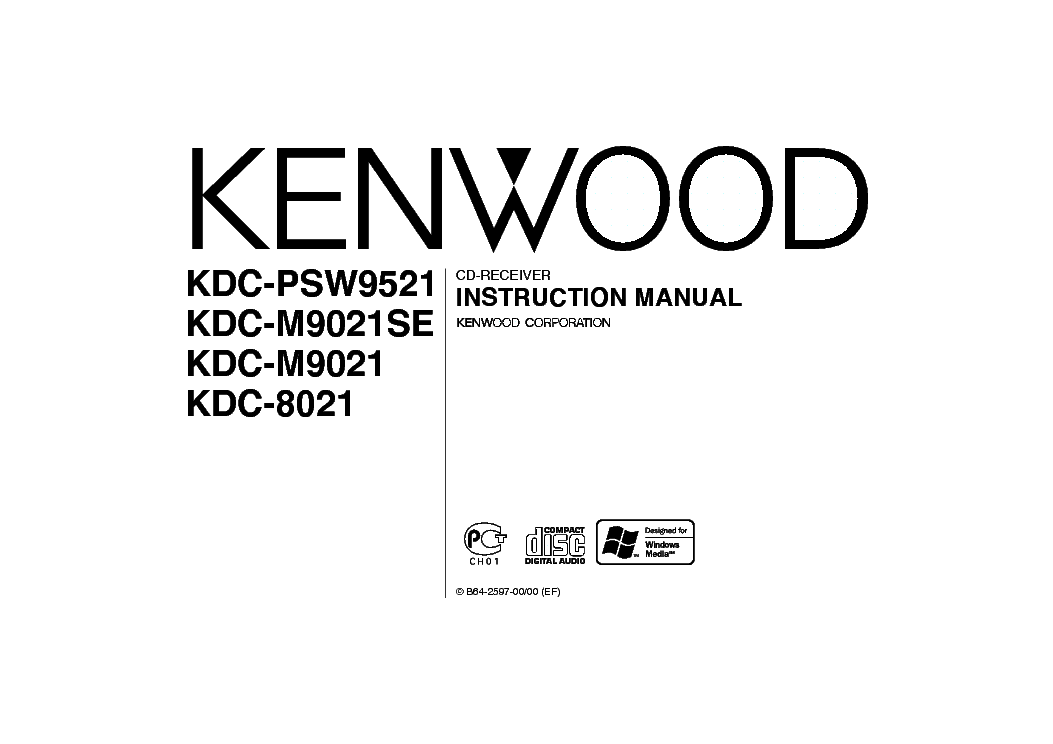 KENWOOD KDC1016 Service Manual download, schematics