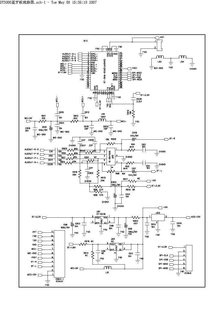 MYSTERY MMD-993 Service Manual download, schematics
