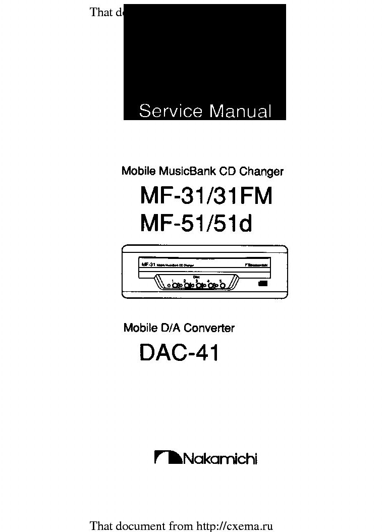 NAKAMICHI PA-304 SM Service Manual download, schematics