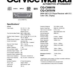 Panasonic Cq Rx100u Wiring Diagram 4 Way Switch Light Middle C1100u Help ~ Elsalvadorla