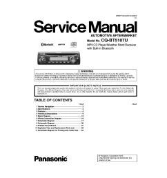 schematics panasonic cq bt5107u sm pdf 1 panasonic cq c1333u car audio service manual download  [ 1053 x 1489 Pixel ]