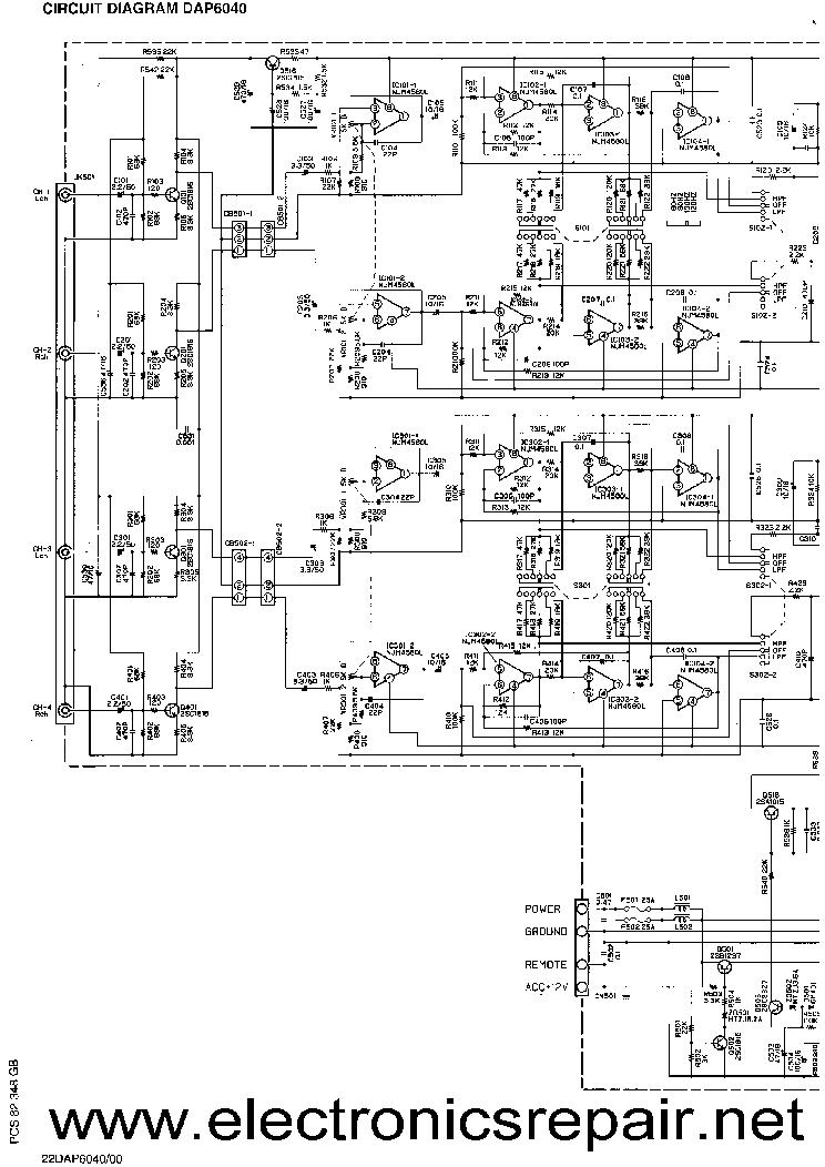 PHILIPS 22DAP6040 SCH Service Manual download, schematics