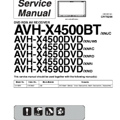 Pioneer Avh X4800bs Wiring Diagram Ford Transit Download Double Din X2800bs 1998 Honda Civic ...