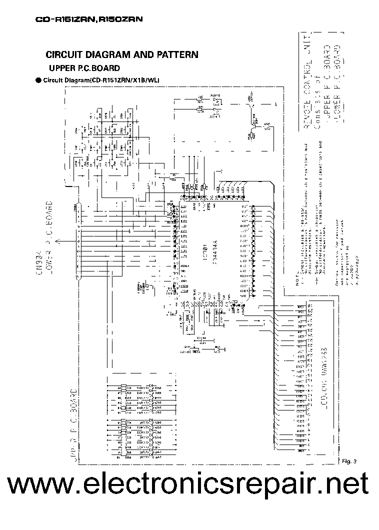 PIONEER DEH-14UB 1450UB 1490UB Service Manual download