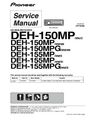 PIONEER GMH120 SCH 2 Service Manual download, schematics
