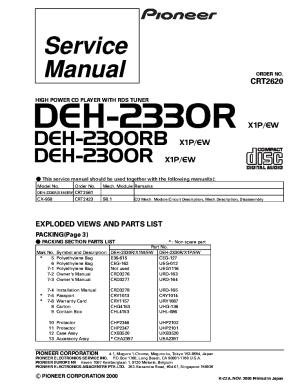 Pioneer Deh 2400ub Wiring Diagram Pioneer Deh 1300Mp