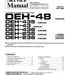 pioneer deh 48 deh 435 deh 43 deh 436 deh 235 deh 236 crt1966 wiring diagram pioneer deh 245 pioneer deh 235 wiring diagram [ 3160 x 4405 Pixel ]