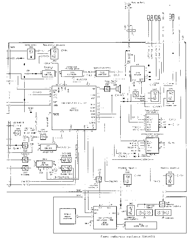 PIONEER DEH-60 SCH Service Manual download, schematics