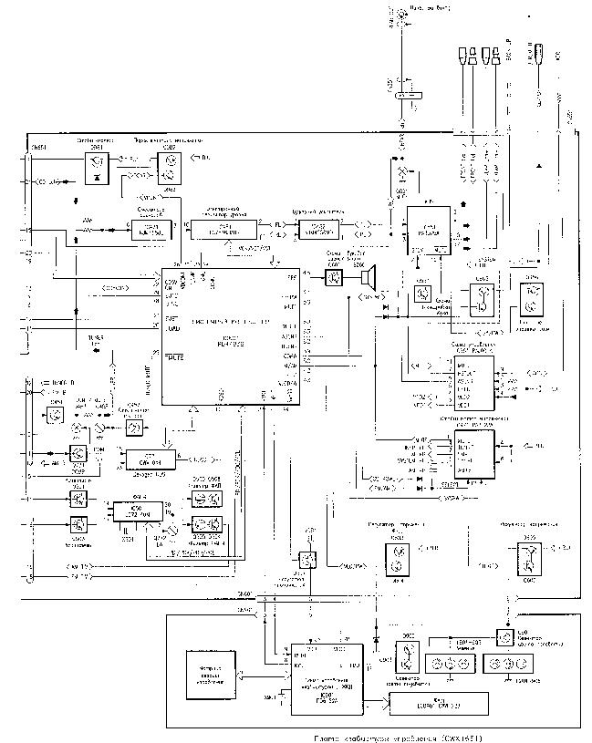 PIONEER DEH-60 SCH Service Manual download, schematics