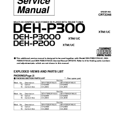 Pioneer Radio Manual Ps2 Keyboard Wiring Diagram Deh P59001b Uploadbang
