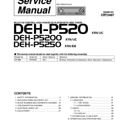 Pioneer Deh 245 Wiring Diagram 2 Object Oriented System Sequence 6 All 28 Images Radio