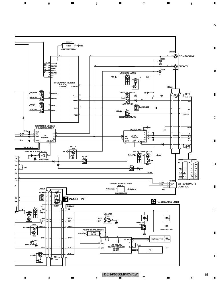 PIONEER DEH-P5600MP DEH-P5630MP SCH Service Manual