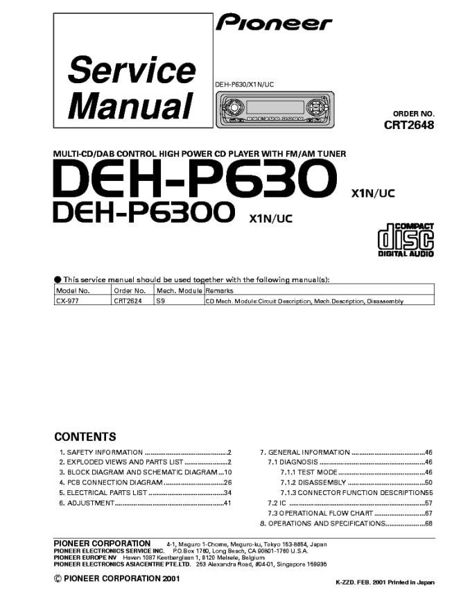 pioneer stereo wiring diagram deh 1400 wiring diagrams pioneer deh 1400 wiring diagram diagrams and schematics