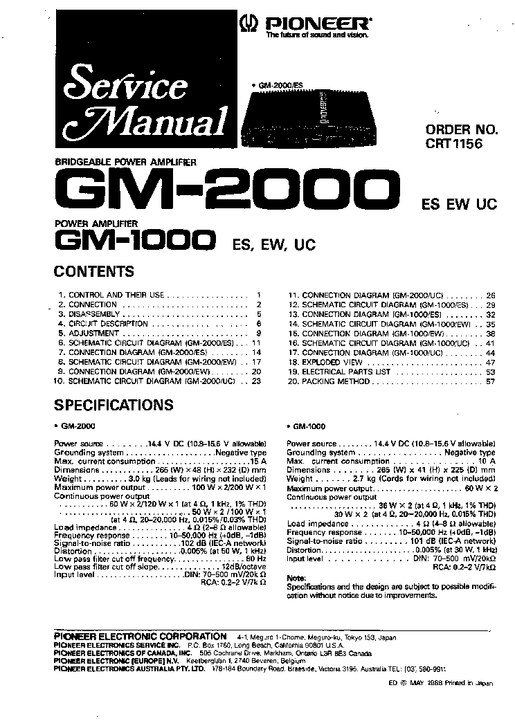 Gm Owners Manual