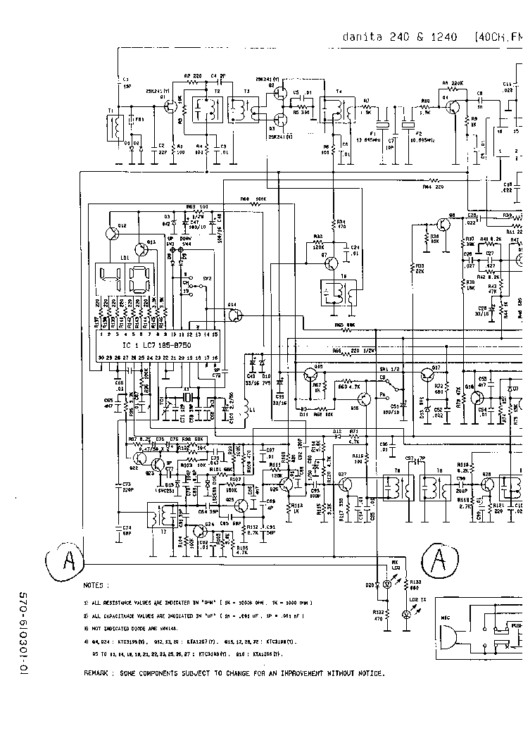 PIONEER GM-2200 SCH Service Manual download, schematics