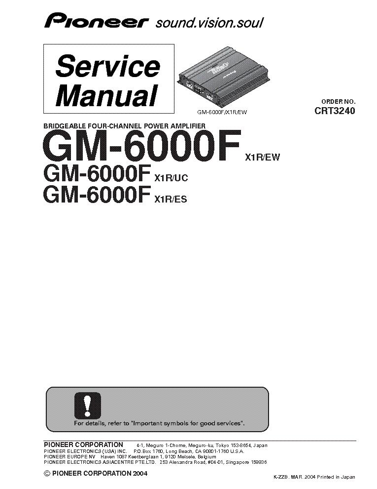 PIONEER DEH-P77MP Service Manual download, schematics