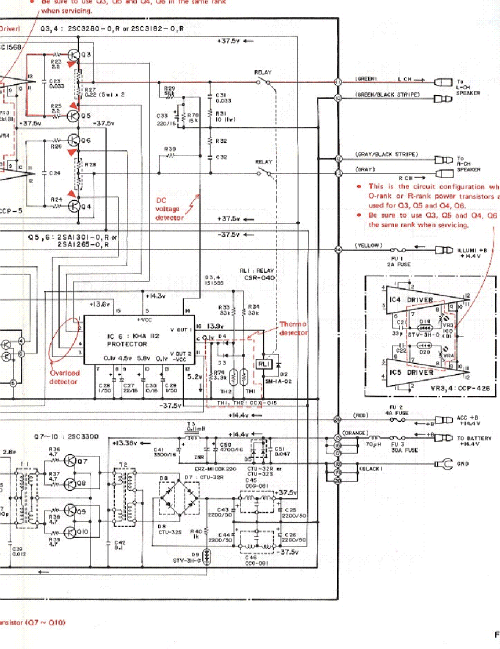 small resolution of pioneer gm a200 sch 2 service manual 2nd page