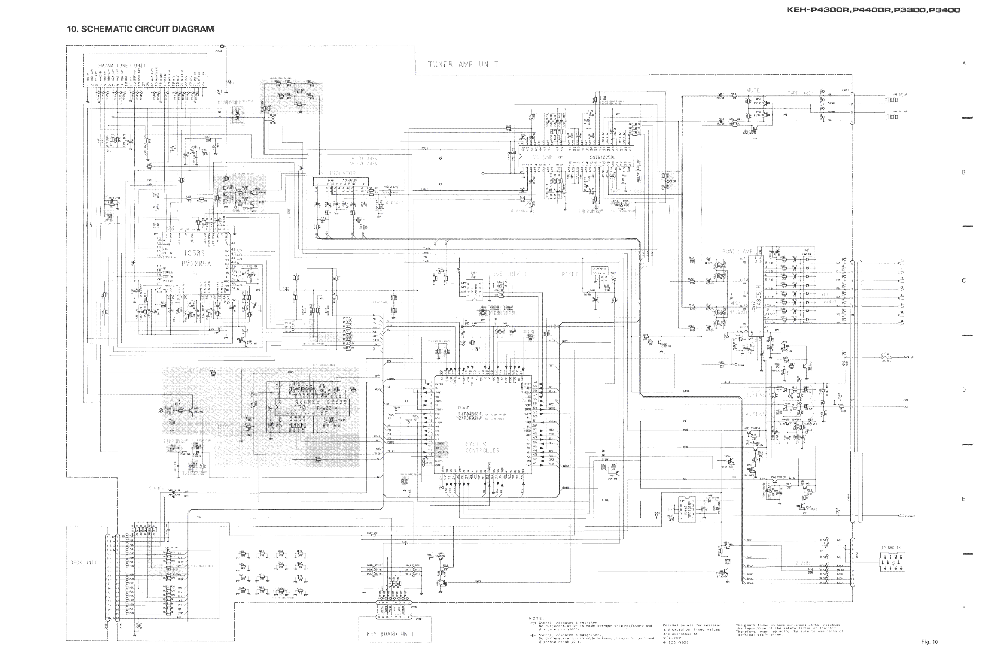 Wiring Diagram For Pioneer Keh