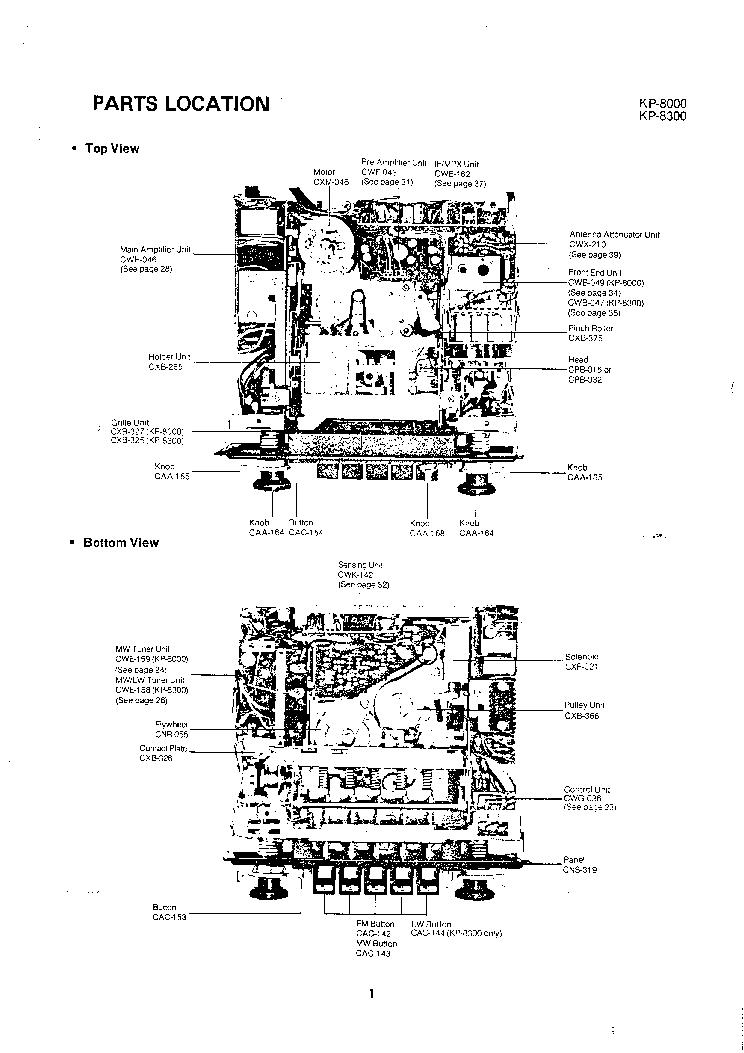 PIONEER KP-8000 KP-8300 M Service Manual download