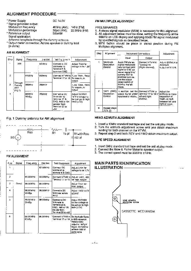 SANYO FXR-303GB Service Manual download, schematics