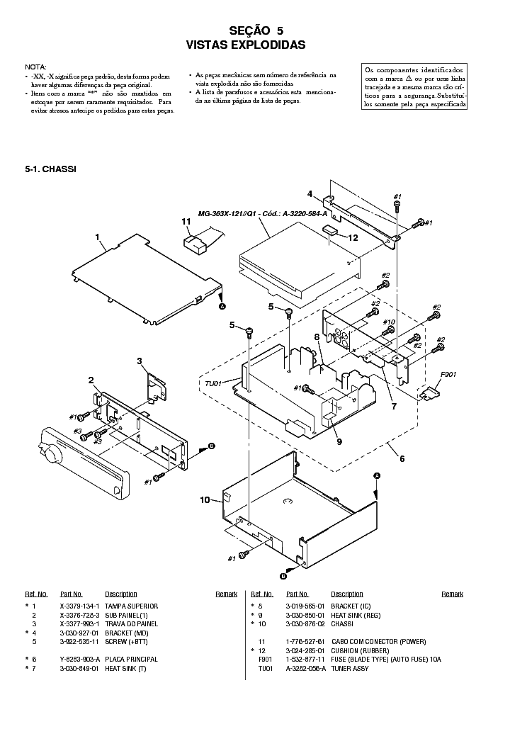 SONY CDX-6577 Service Manual download, schematics, eeprom