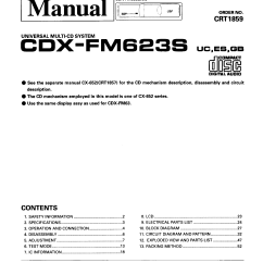 Sony Cdx M610 Wiring Diagram Leg Arteries And Veins Gt270mp Motor Diagrams
