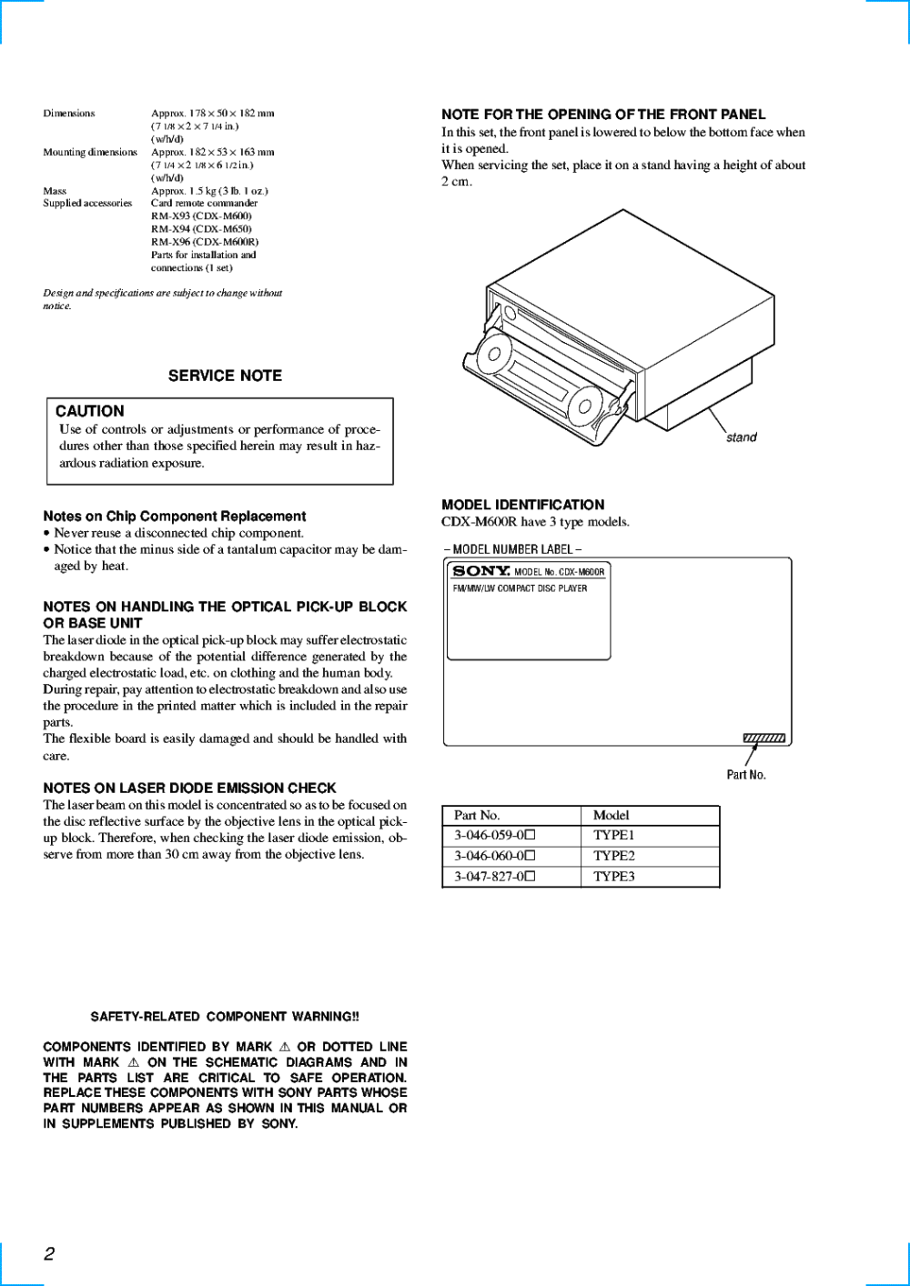 medium resolution of sony cdx m600 cdx m600r cdx m650 service manual download schematics sony wiring harness colors sony cdx m600 wiring diagram
