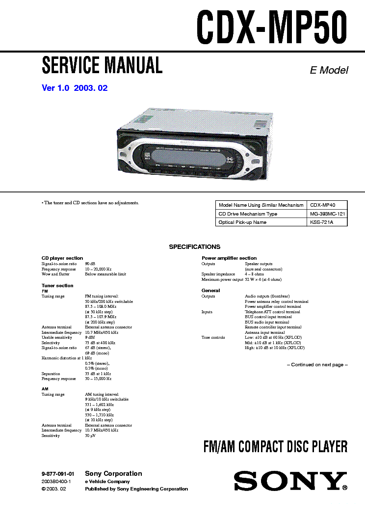 sony cdx gt610ui wiring diagram home electrical symbols car radio ~ elsalvadorla
