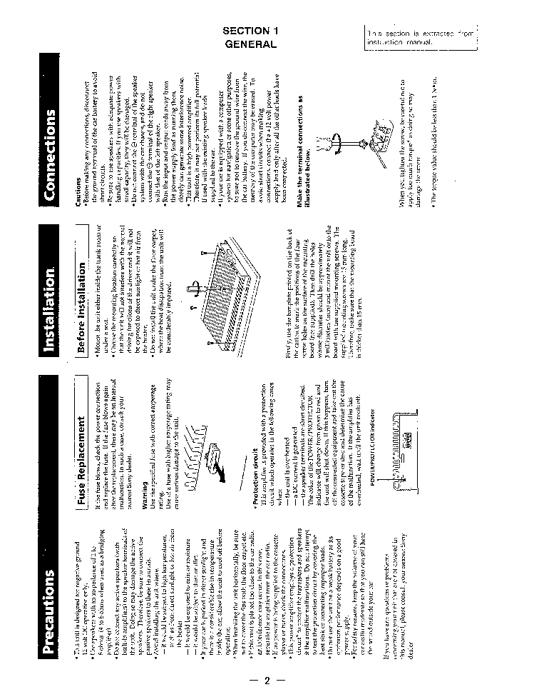 SONY XM-4045 SM Service Manual download, schematics
