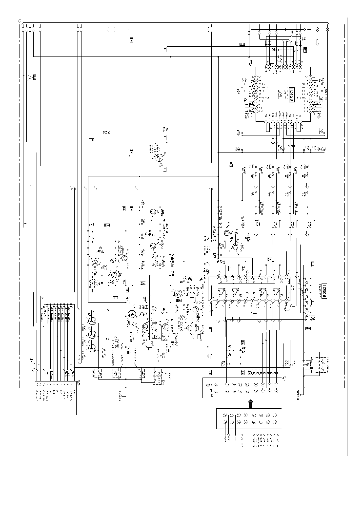SONY XR-1800 SCH Service Manual download, schematics