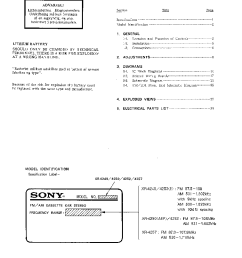 sony xr 4240 4250 4252 4257 service manual 2nd page  [ 756 x 1051 Pixel ]