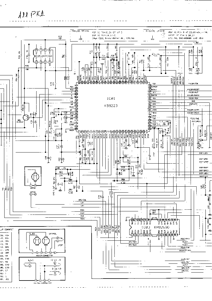 URAL PKD-111 Service Manual download, schematics, eeprom