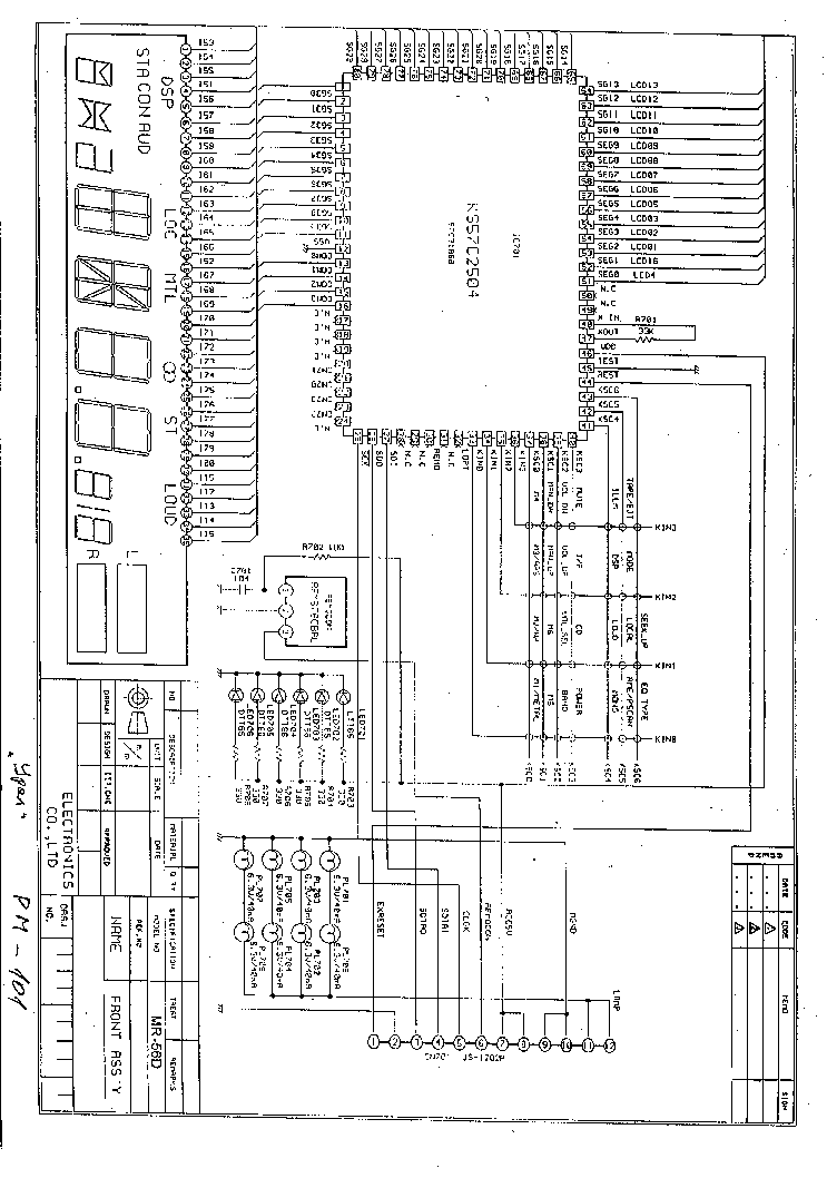URAL PKD-111 Service Manual download, schematics, eeprom