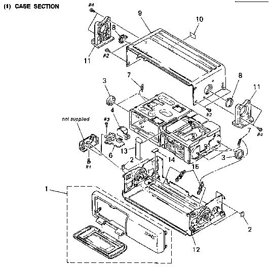 SONY CDX-U300 CORRECTION-1 Service Manual download