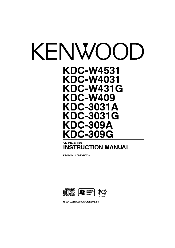 KENWOOD KAC-721 INSTRUCTION Service Manual free download
