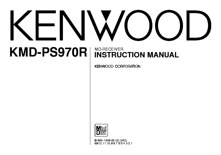 KENWOOD KAC-721 INSTRUCTION Service Manual download
