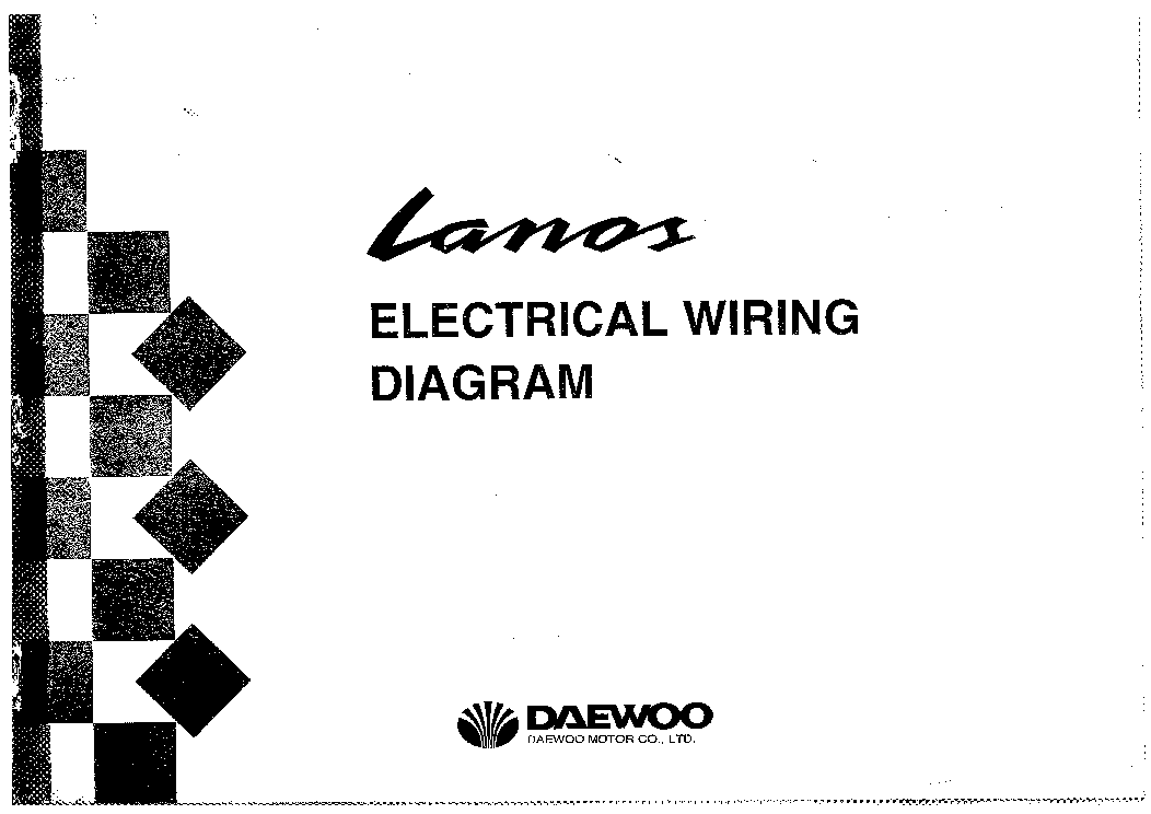daewoo lanos wiring diagram. Black Bedroom Furniture Sets. Home Design Ideas