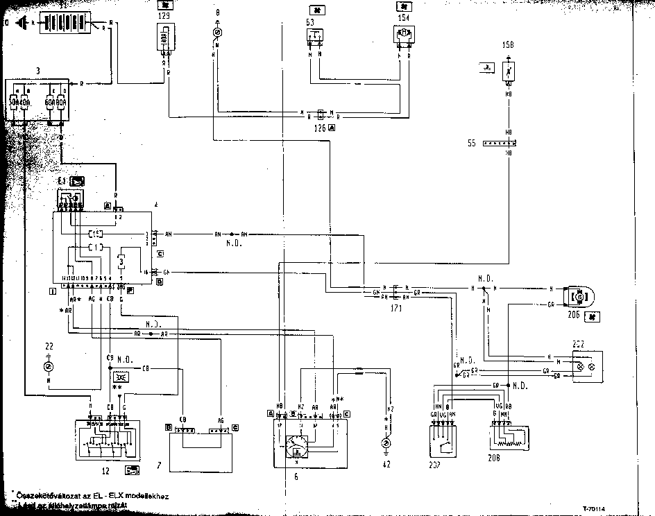 FIAT BRAVO SCH Service Manual download, schematics, eeprom