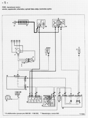 FIAT UNO WIRING DIAGRAM Service Manual download, schematics, eeprom, repair info for electronics