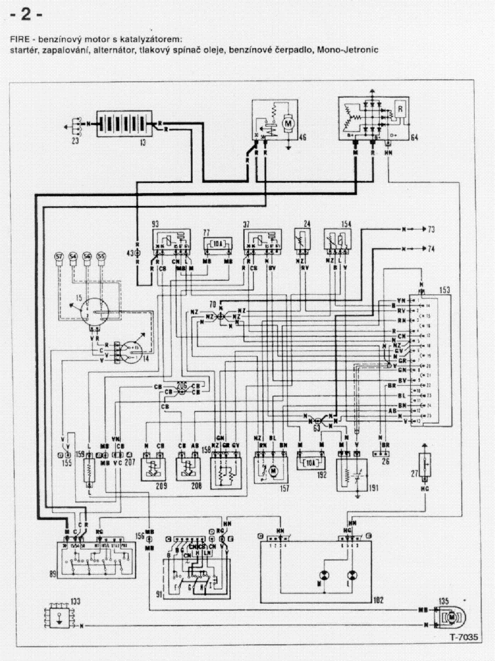 medium resolution of fiat uno 1100 wiring diagram wiring diagram schematic fiat punto electrical wiring diagram fiat uno electrical wiring diagram