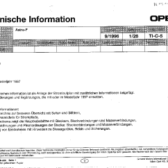 Opel Astra Wiring Diagram Diagrams For 4 Way Switches With Multiple Lights F Service Manual Download Schematics 1st Page